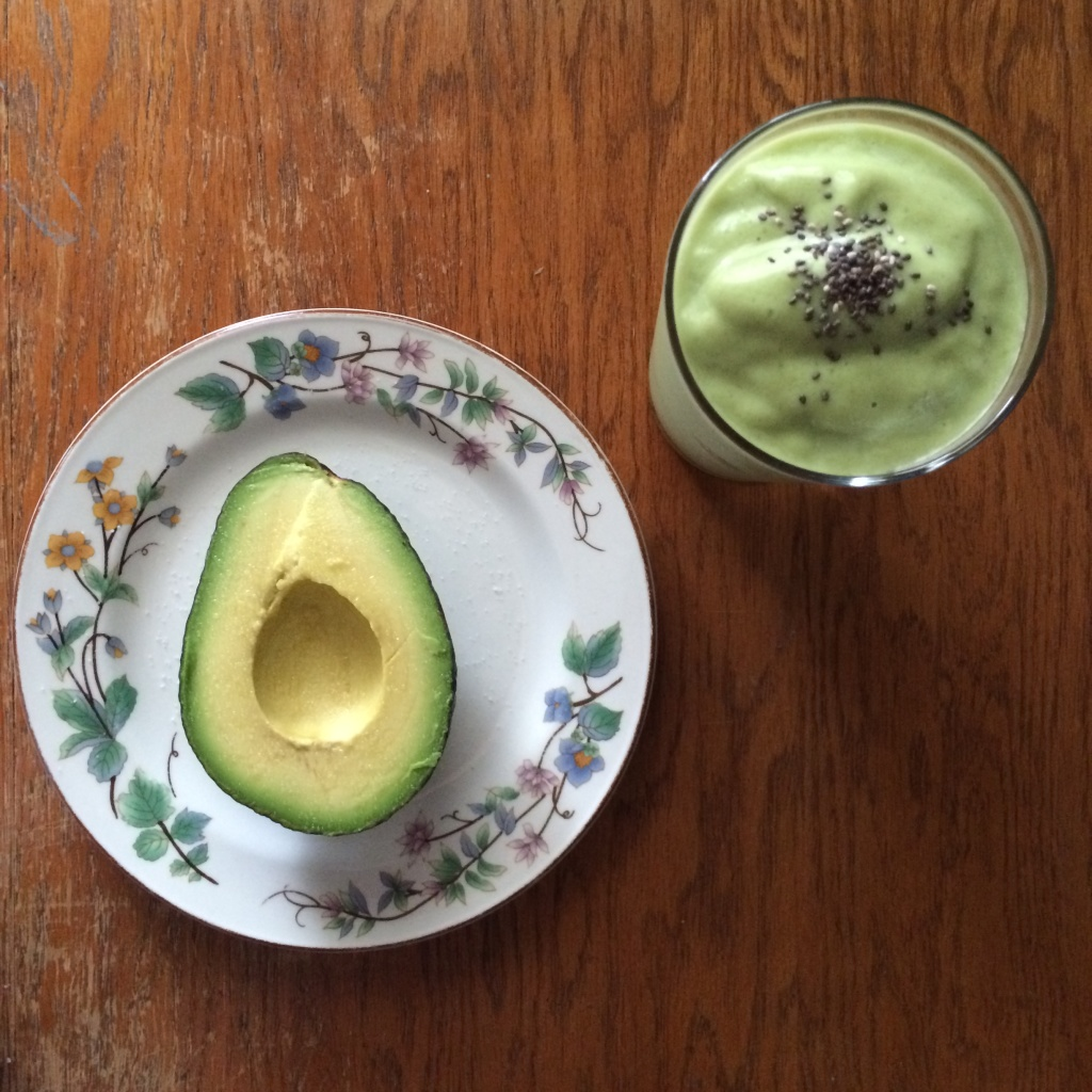 Golden Green Smoothie // Photo : @vansventures