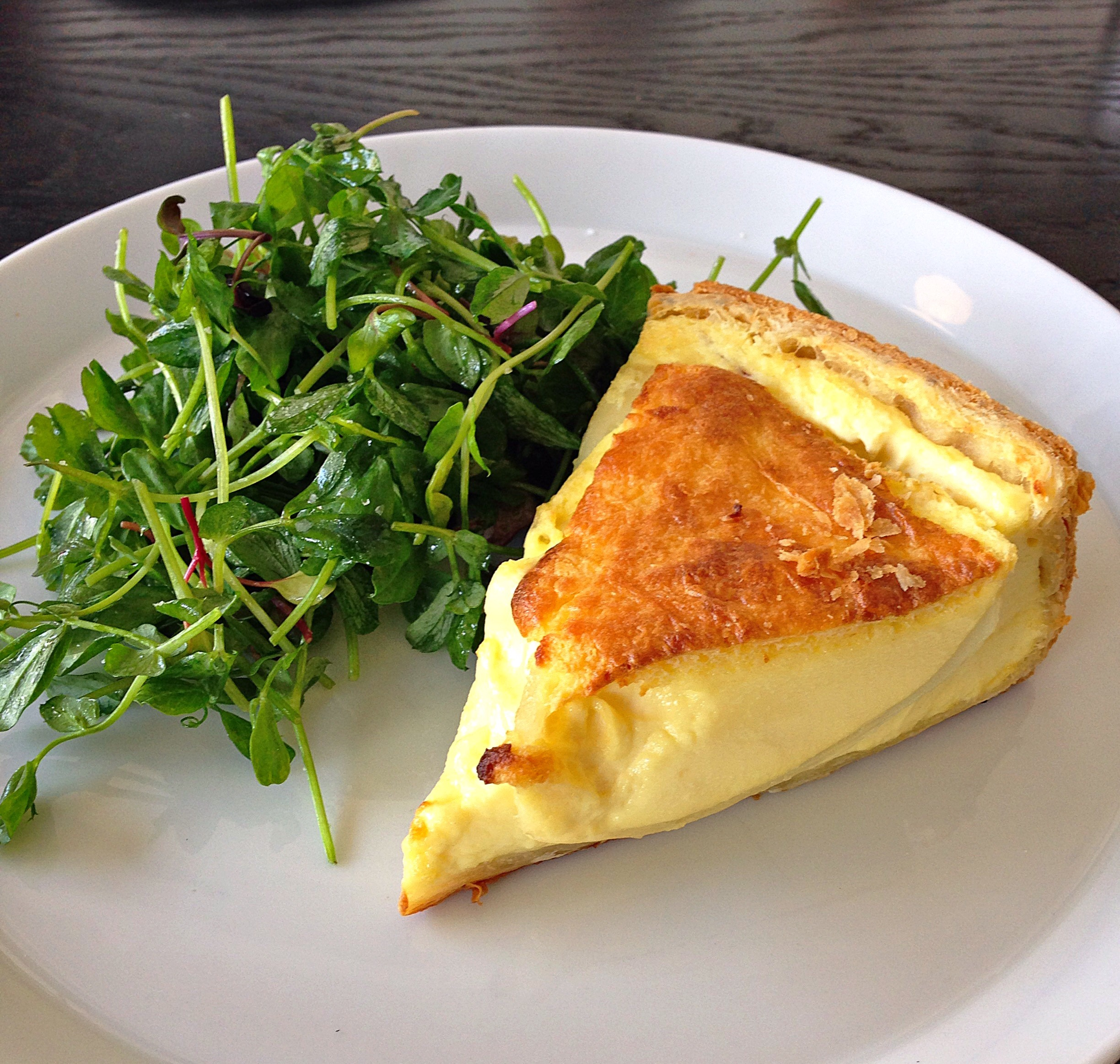 Onion Quiche at Cellar Door Provisions // Photo @sherriesavorsthecity & Fab Review: Cellar Door Provisions - Fab Food Chicago