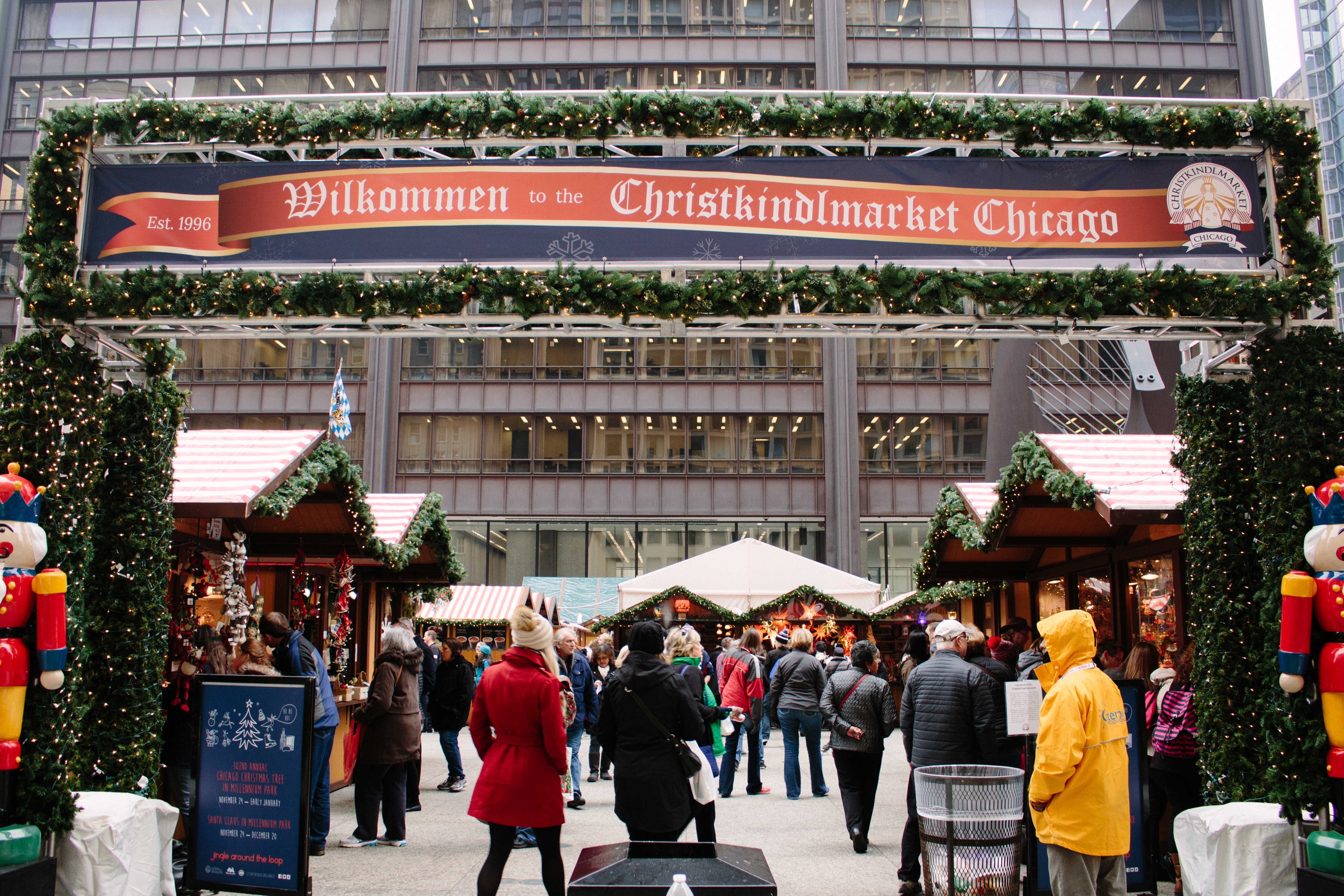 christkindlmarket market photo chelsias christkindlmarket chicago - Chicago Christmas Market
