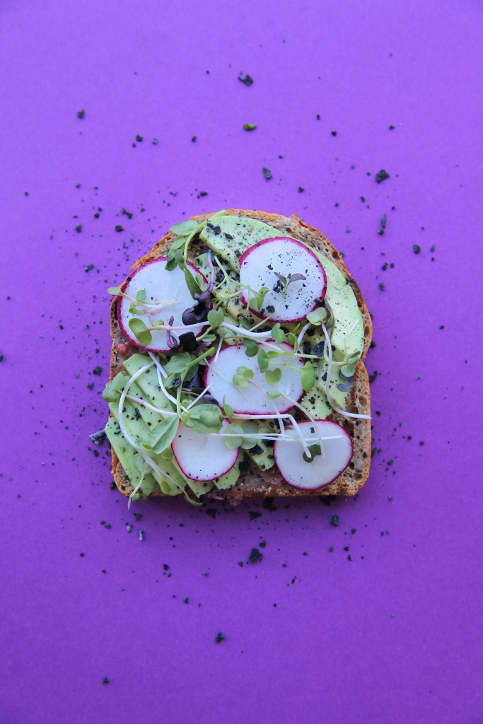 Avocado toast from Baker Miller // Photo: Christina Slaton