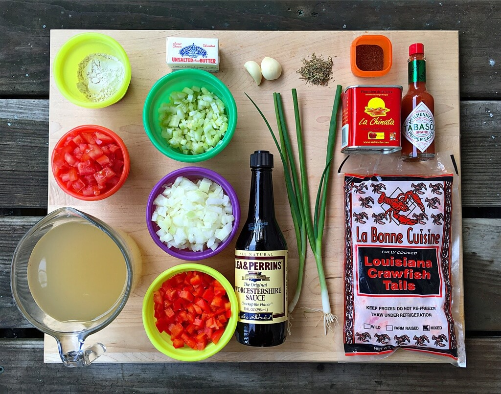 Fab recipe crawfish etouffee by ched pagtakhan fab food chicago kosher salt and freshly ground black pepper ccuart Images