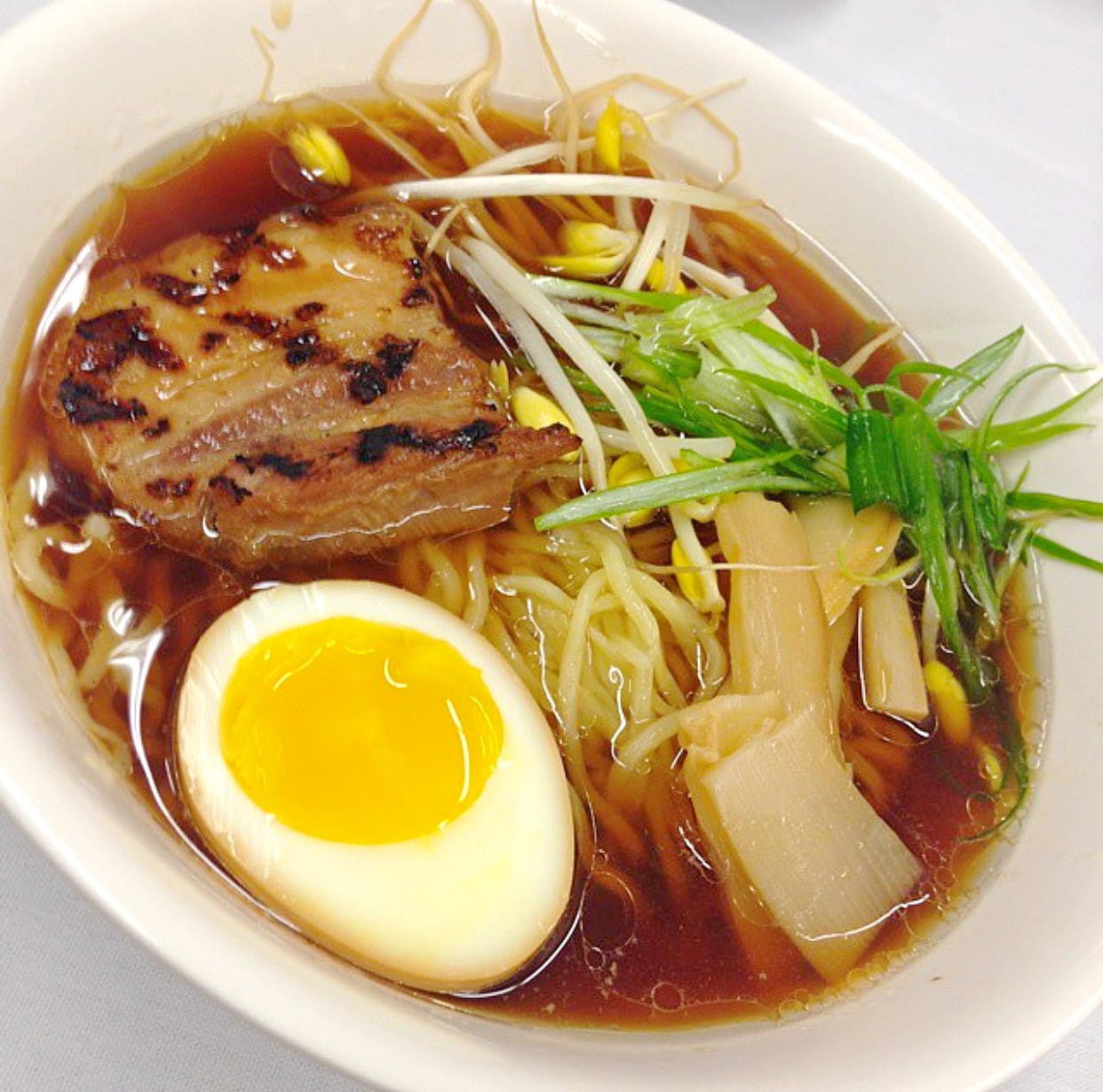 Homemade Ramen with all the fixings // Photo: @chedcancook