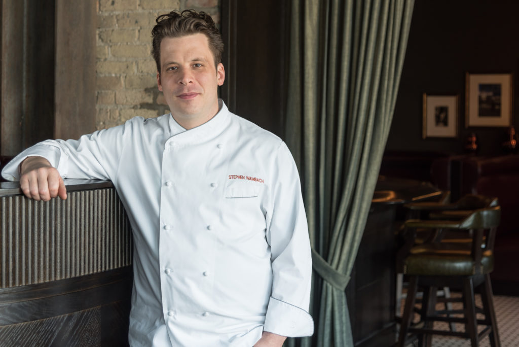 Fab Chef: Stephen Wambach of Formento's // Photo: Kailley Lindman