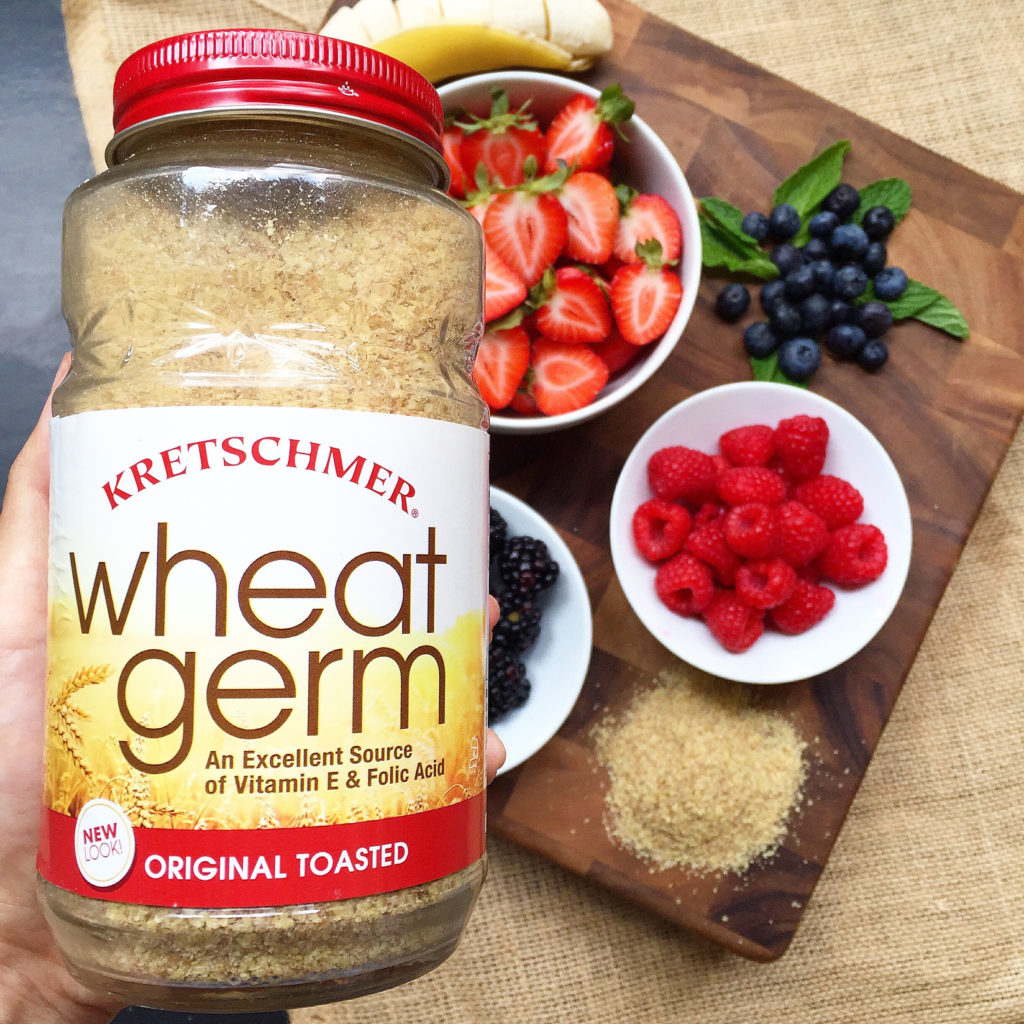 Wheat Germ Berry Smoothie Bowl