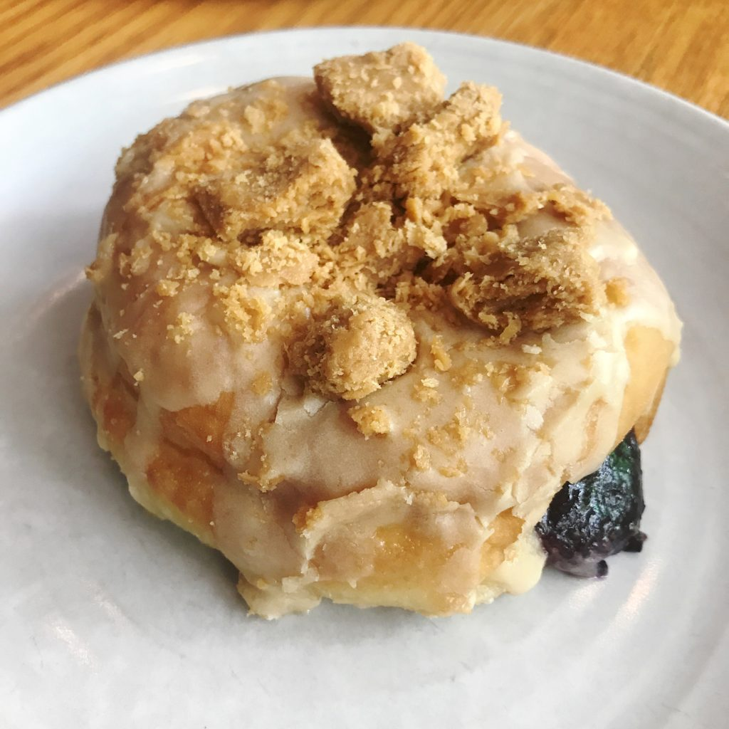Fab Review: Brunch at Gather // PB & J Donut // Photo: @topchicagoeats