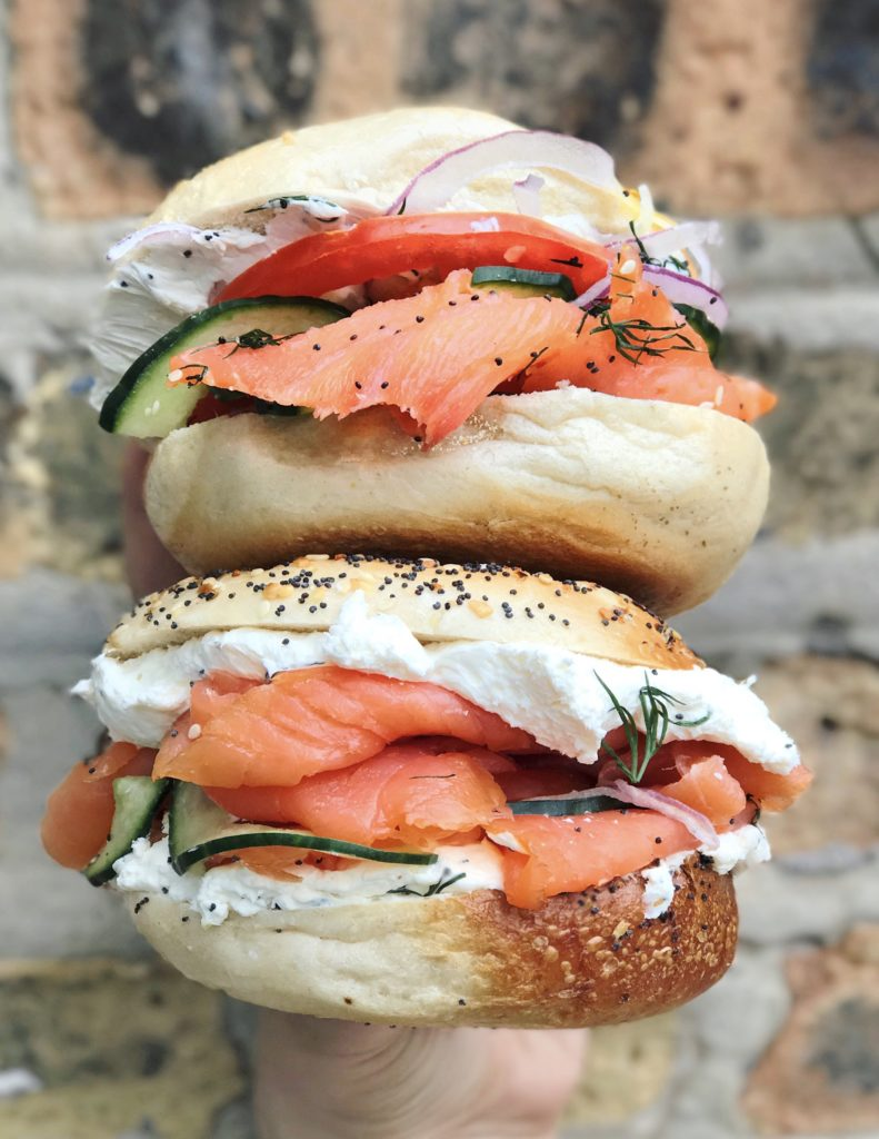 Lox Bagels at Fairgrounds Coffee and Tea // Photo: @topchicagoeats