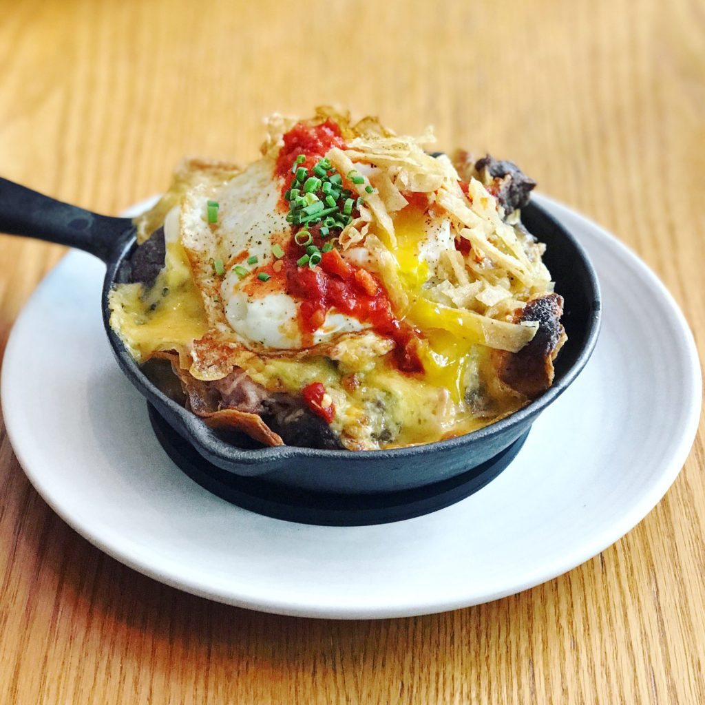 Fab Review: Brunch at Gather // Skillet // Photo: @topchicagoeats