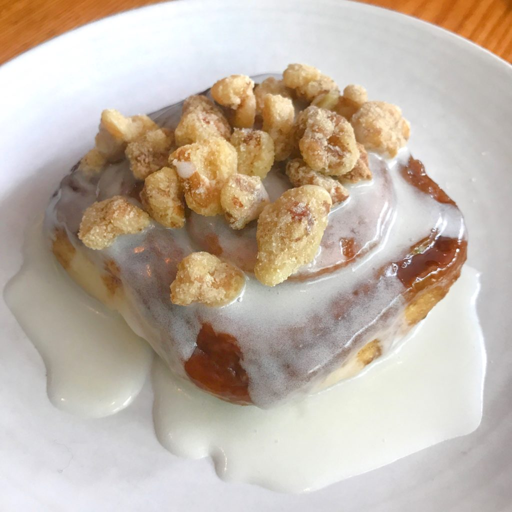 Fab Review: Brunch at Gather // Sticky Bun // Photo: @topchicagoeats
