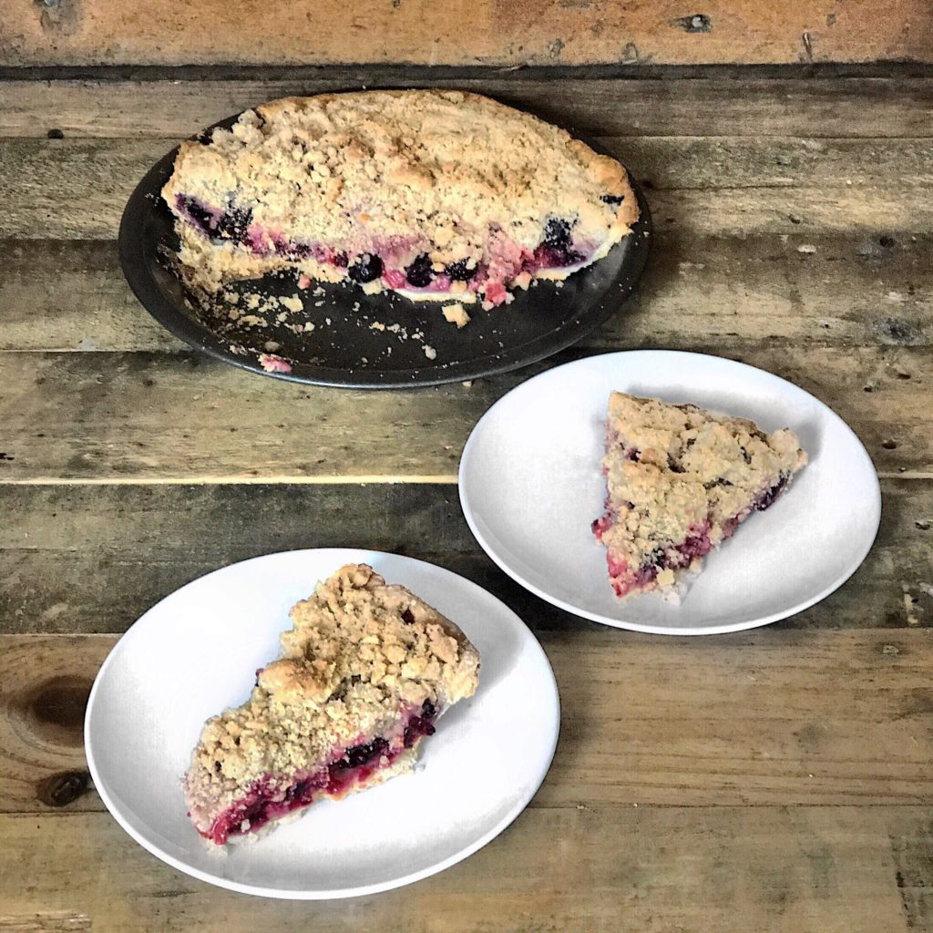 Fab Recipe: Mixed Berry Pie // Sadie Hill // Photo: @topchicagoeats
