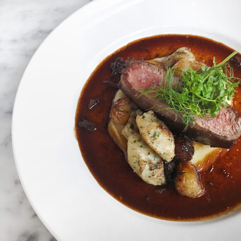 Fab Review: Café Robey // Beef // Photo: @topchicagoeats