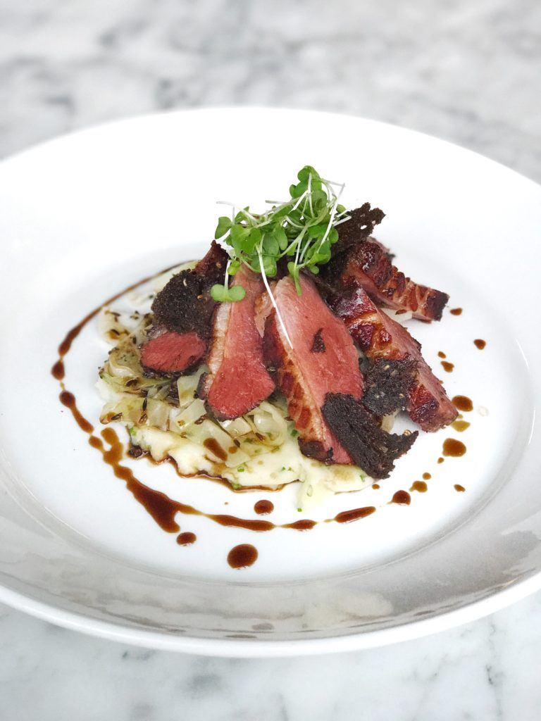 Fab Review: Café Robey // Duck // Photo: @topchicagoeats
