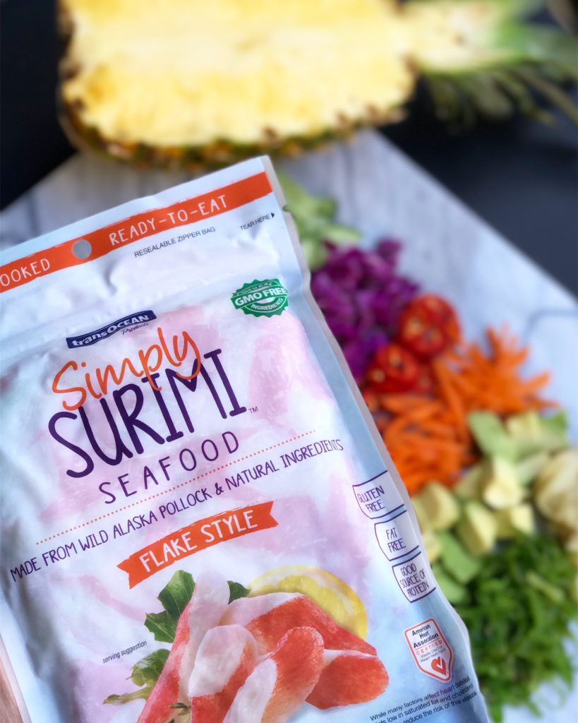 Fab Recipe: Simply Surimi & Cucumber Sunomono Poke Bowl // Photo: @fabsoopark