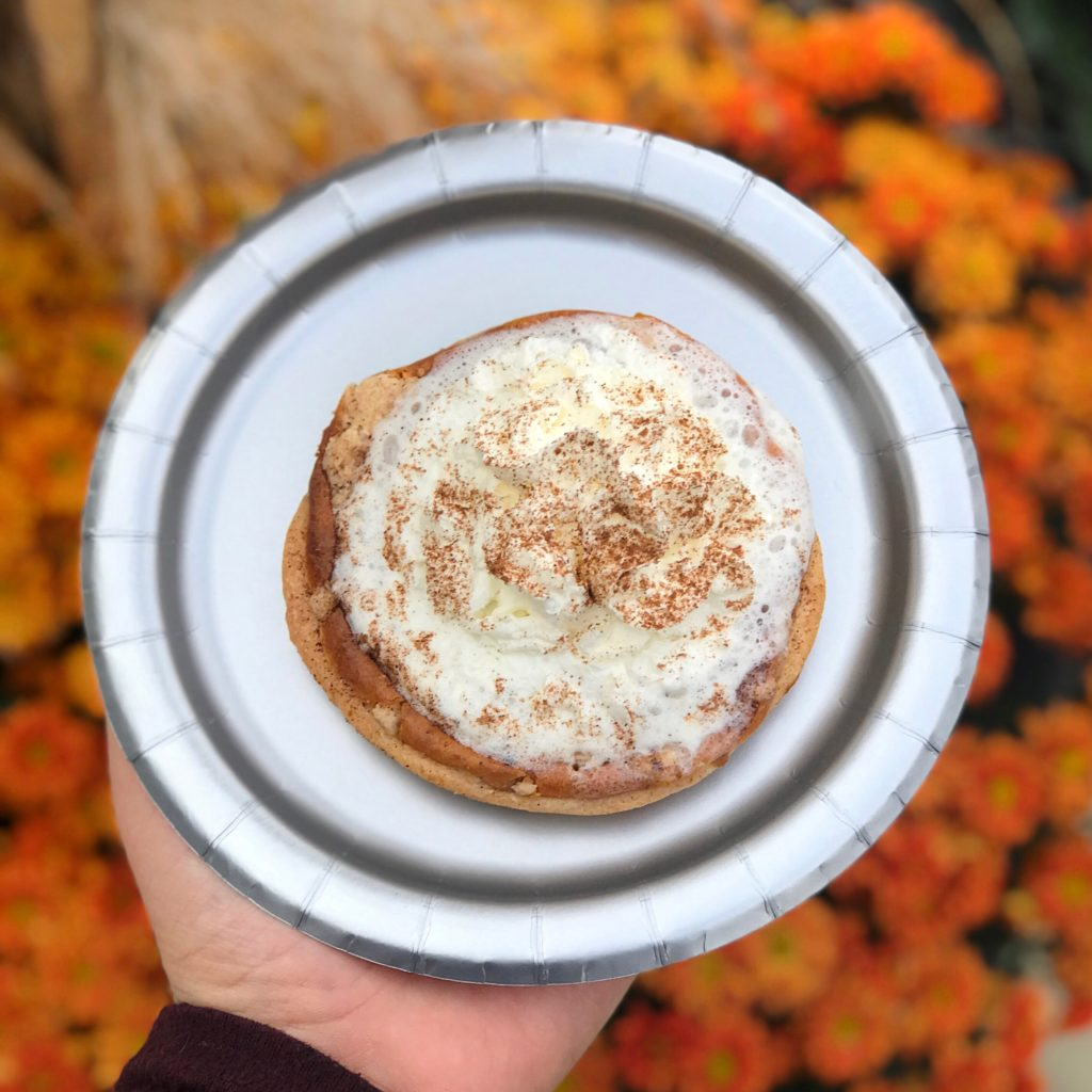 Pumpkin Cookie Pie at Twisted Cookie // Photo: @topchicagoeats