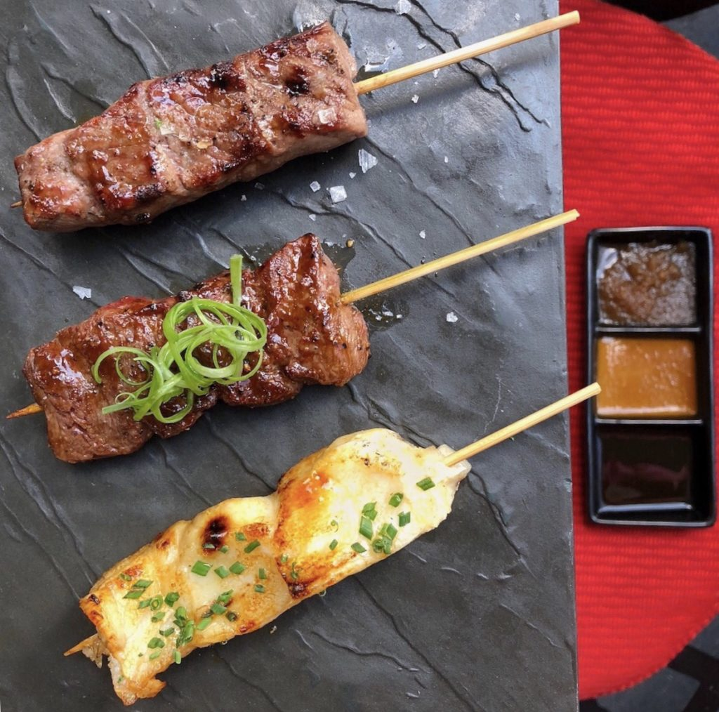 Fab Review: Katana // Robata Skewers // Photo: @topchicagoeats