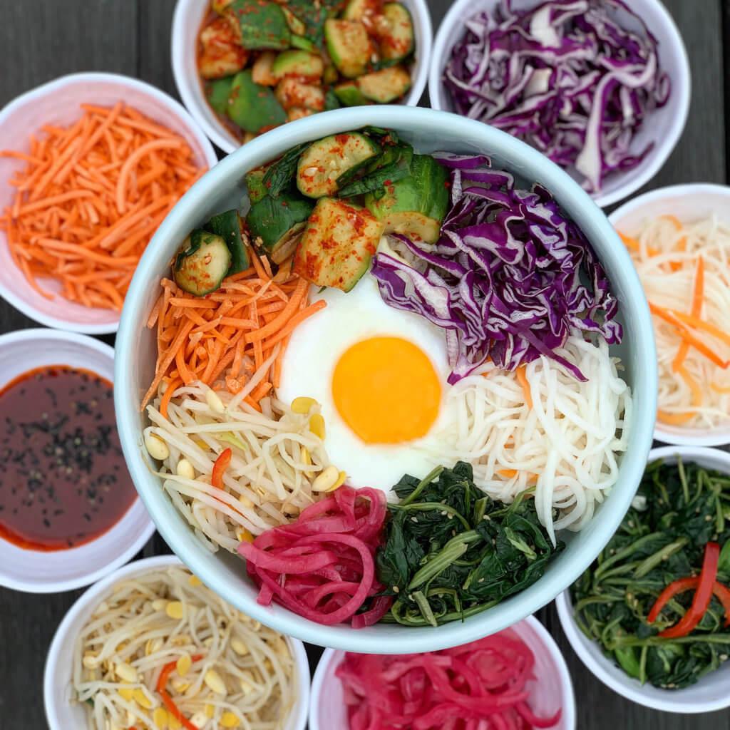 Top Ten Fab Pictures: Fab Recipe: Korean Vegetable Bibimbap
